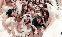 Bộ ảnh 'Mr. Đàm và 50 cô dâu' gây 'chấn động' dân tình