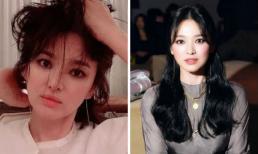 Cận cảnh kiểu trang điểm mắt khói giúp Song Hye Kyo 'làm mưa làm gió' trên weibo Trung Quốc