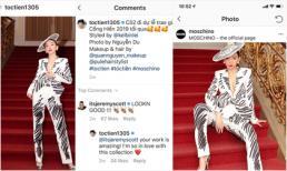 Xuất hiện trên Instagram của Moschino, Tóc Tiên được NTK Jeremy Scott khen ngợi
