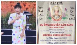 Sao Việt chia buồn với Việt Hương trước tin bố cô qua đời