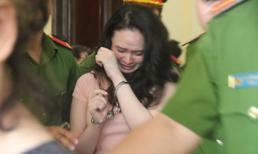 Hot girl Ngọc Miu khóc nức nở khi thấy người thân, đòi gặp con nhưng không được