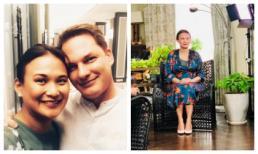 Kết hôn chưa bao lâu, vợ mới của chồng cũ Hồng Nhung lộ vòng bụng khác thường