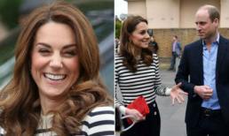 Công nương Kate lên đồ như nàng công sở, tiết lộ lý do chưa gặp quý tử đầu lòng của em dâu Meghan