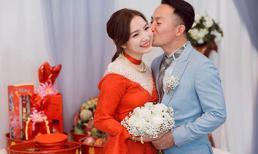 Sau 5 tháng kết hôn, bà xã Đinh Tiến Đạt xác nhận đã mang thai