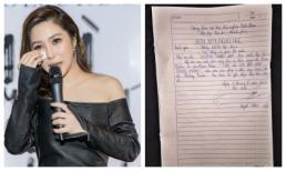 Choáng khi fan viết đơn xin nghỉ học để cày view cho Hương Tràm