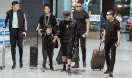 Vệ sĩ hộ tống NTK Đỗ Mạnh Cường sang Úc làm show