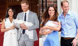 Bí ẩn mẫu khăn choàng mà nàng dâu Hoàng gia Meghan Markle dùng để quấn em bé trong lần lộ diện sau sinh