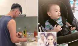 Lâm Khánh Chi khiến công chúng ngưỡng mộ khi khoe con trai đáng yêu, chồng chăm vợ hết lòng