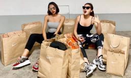 Minh Triệu - Kỳ Duyên khoe thành tích shopping khủng, dân mạng kì vọng cặp đôi tham gia 'Cuộc đua kì thú'