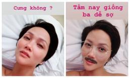 Khoe mặt mộc không tì vết, hoa hậu H'Hen Niê không quên chứng tỏ 'độ lầy' hơn người