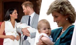 Hoàng tử Harry mở lòng về cái chết của Diana sau khi đón con trai đầu lòng