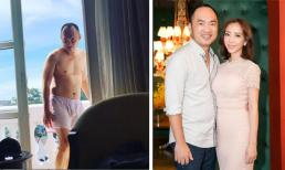 Thu Trang đăng ảnh 'dìm hàng' Tiến Luật khiến dân mạng thích thú vì phát hiện ra điều đặc biệt
