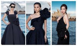 Dàn hoa hậu, á hậu tài sắc phủ sắc đen tại show Xuân - Hè 2019 của Đỗ Mạnh Cường