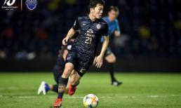 Siêu phẩm sút phạt - bàn thắng đầu tiên của Xuân Trường trong màu áo Buriam United