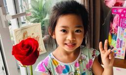Đáng yêu như con gái Mai Phương, 5 tuổi đã cực tâm lý, biết tặng hoa trong 'Ngày của mẹ'