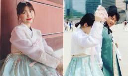 Vừa thông báo chữa bệnh xong, Hòa Minzy đã cùng bạn trai đi du lịch ở Hàn Quốc?