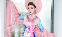 Á hậu Lý San Nghi mang sắc hoa rực rỡ đến với Festival biển Nha Trang