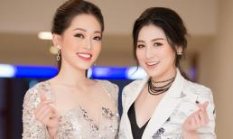 Phương Nga - Tú Anh xinh đẹp hội ngộ làm giám khảo nhan sắc sinh viên