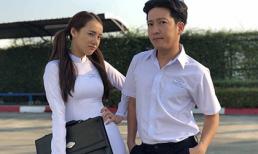 Bất ngờ với bức ảnh hoá học sinh của vợ chồng Trường Giang - Nhã Phương, nhưng bình luận của fan mới bá đạo
