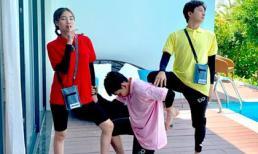 Bộ 3 'lầy lội' Lan Ngọc, Ngô Kiến Huy và Jun Phạm gây sốt với điệu nhảy 'Cục sì lầu ông bê lắc'