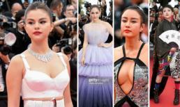 """Thảm đỏ khai mạc LHP Cannes 2019: Selena tỏa sáng với vòng 1 gợi cảm; không ít nhân vật """"chơi trội"""" xuất hiện"""