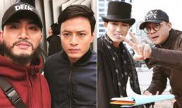 Hậu trường phim 'Mê cung': Cảnh sát Khánh (Hồng Đăng) thân thiết với tên sát nhân Fedora (Doãn Quốc Đam)