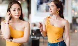 'Cá sấu chúa' Quỳnh Nga tái xuất sự kiện, xinh đẹp nhờ lên cân sau chuyện buồn tình cảm