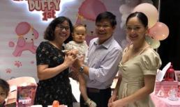 Vợ chồng Lan Phương tổ chức sinh nhật cho con gái tại một khách sạn sang trọng