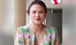 Vợ mới của chồng cũ Hồng Nhung lại gây chú ý với thân hình tăng cân và vòng hai lùm xùm