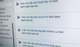 Bạn gái mượn Facebook hôm trước, hôm sau đã thấy cả dàn gái xinh 'bốc hơi' khỏi friend list: Ghen gì lạ lùng!