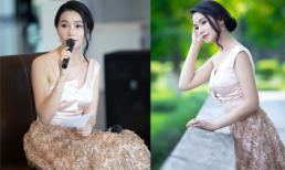 Diễn viên 'Hoa cỏ may' Lương Giang xinh đẹp, trẻ trung làm MC