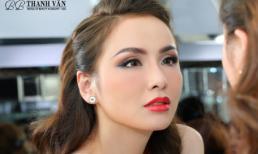 Bí quyết trang điểm lôi cuốn của Hoa hậu Diễm Hương
