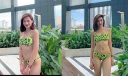 Diện bikini, Lưu Đê Ly bị dân mạng bình luận phũ 'người đàn bà lực điền'
