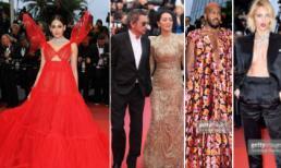 Thảm đỏ LHP Cannes ngày 4: 'Mỹ nhân đẹp nhất Thái Lan' mọc cánh; Củng Lợi sánh đôi chồng 71 giữa dàn khách mời ăn mặc kỳ quái, hở bạo