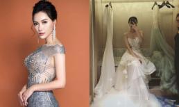 MC Minh Hà khoe hậu trường thử váy cưới, phải chăng chuẩn bị làm vợ người ta?