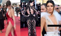 Ngoài Ngọc Trinh, đây là những chiếc váy gây sốc nhất lịch sử thảm đỏ LHP Cannes, có bộ còn hở 80-90% cơ thể