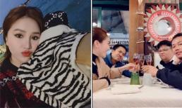Bị trộm vali khi ngồi trên khoang tàu sang trọng ở Milan, Bảo Thy oder nửa lít rượu để 'ăn mừng'