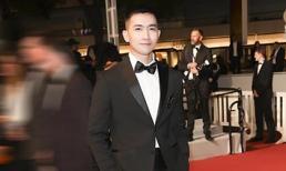 Võ Cảnh điển trai và lịch lãm trong lần đầu xuất hiện trên thảm đỏ LHP Cannes