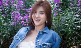 Diễn viên Kim Tuyến đẹp mơ màng giữa sắc hoa Đà Lạt