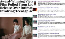 Ngọc Trinh vừa giảm nhiệt, 'Vợ ba' lại lên báo nước ngoài vì bị dừng chiếu đột ngột liên quan đến nữ chính 13 tuổi