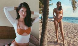 Lâu lâu mới 'phá lệ' diện bikini, Á hậu Thùy Dung được fan khen ngợi vì dáng quá đẹp