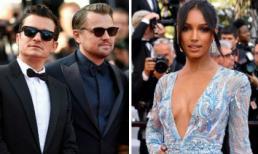 Thảm đỏ LHP Cannes 2019 ngày 10: Orlando Bloom cực ngầu bên Leonardo Dicaprio; thiên thần 3 triệu USD hút ánh nhìn với đầm khoét sâu đến tận rốn