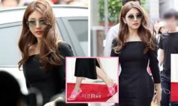 Đang sang chảnh ngút ngàn, Suzy khiến dân tình tụt cảm xúc vì đôi giày 'lạc quẻ'