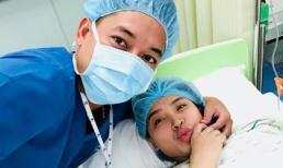 Con Hải Băng được chuyển đến phòng chăm sóc đặc biệt do mổ sớm hơn ngày dự sinh