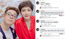 Hiền Hồ livestream, Bùi Anh Tuấn vào bình luận khen hết lời