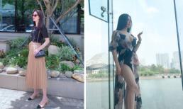 Sao Việt 27/5/2019: 'Gái 1 con' Thu Thảo khoe vóc dáng thon gọn; Thư Dung 'thả thính': 'Anh nhà ở đâu thế, cứ tới lui trong tim tôi'