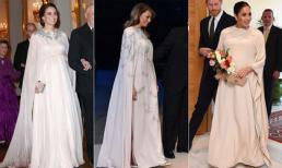 Đệ nhất phu nhân Mỹ gây sốt truyền thông khi cố học theo phong cách Hoàng gia của Công nương Kate và Meghan?