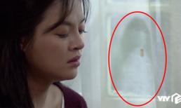 Chi tiết bí ẩn rợn người của Về Nhà Đi Con tập 32: Cái gì đang hiện lên trên tấm rèm cửa nhà Huệ?
