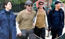 Bất ngờ với ngoại hình già nua, bụng mỡ của Brad Pitt khi đi xem triển lãm nghệ thuật cùng bạn thân