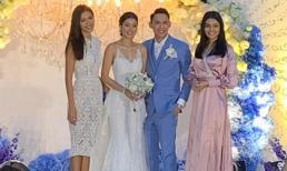 Minh Tú rạng rỡ dự đám cưới Hoa hậu Siêu quốc gia Philippines 2018